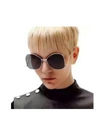 Gafas De Moda Con Color Gradiente