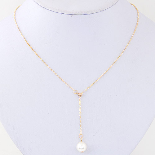 Exquisite gold color pearl pendant decorated simple design www exquisite gold color pearl pendant decorated simple design mimoda21 aloadofball Gallery