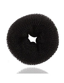 Bespoke Black Circle Cotton Hair band hair hoop