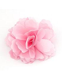 2013 Pink Elegant Fashion Flower Design Cloth Hair clip hair claw
