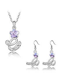 Coast Violet Life Alloy Crystal Sets