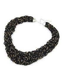 Pagan Black Handmade Bead