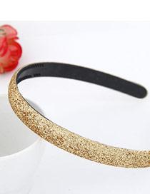 Monogramme Gold Color Blink Abrazine Design Plastic Hair band hair hoop
