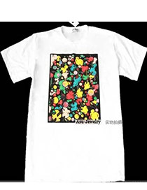 Winter White Candy Color Pattern Cotton Others