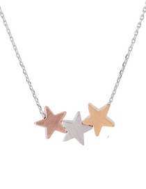 Collar Decorado Con Estrellas