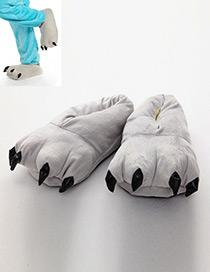 Pantuflas De Garra De Moda