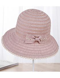 Sombrero Con Encaje De Moda