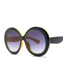 Gafas De Sol Redonda De Marco Ancho