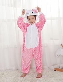 Ni?os Pijama De Kt Gato De Puntos