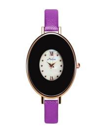 Reloj Oval De Moda