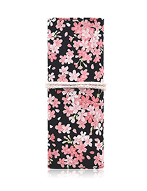 Fashion Pink Printed Cosmetic Bag