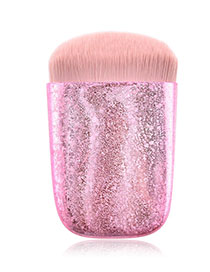 Fashion Scrub Powder Single Flat Head Makeup Brush