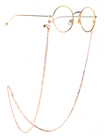 Cadena De Gafas De Cadena Antideslizante Que Retiene El Color