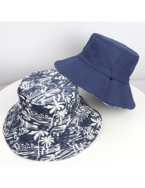 Sombrero De Pescador Con Sombrilla Plegable De Doble Cara