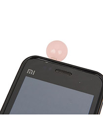 2013 Pink Round Shape Acrylic Mobile phone products