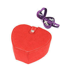 Engravable Red Heart Shape Design