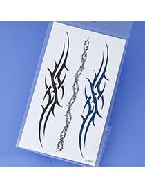 Creative Black & Blue Weave Pattern Simple Desgin