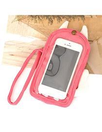 Jockey Pink Devil Touch Screen Design Velvet Iphone 5 5s
