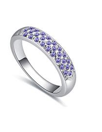 Anillo De Moda Del Estilo Clasico Decorado Con Diamantes Replicas