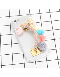 Funda De Iphone7 De Moda Decorado Con Bolas